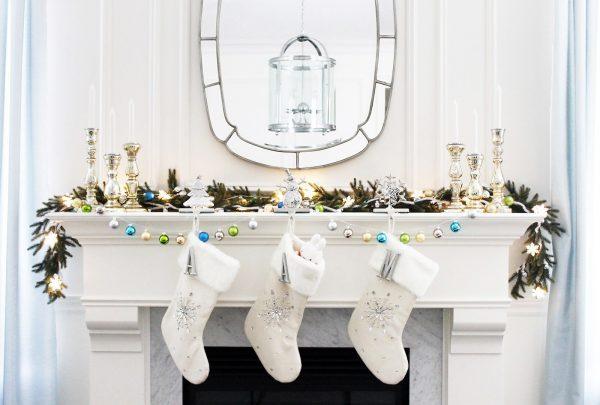 mantel christmas decorations ideas