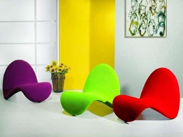 neon chairs