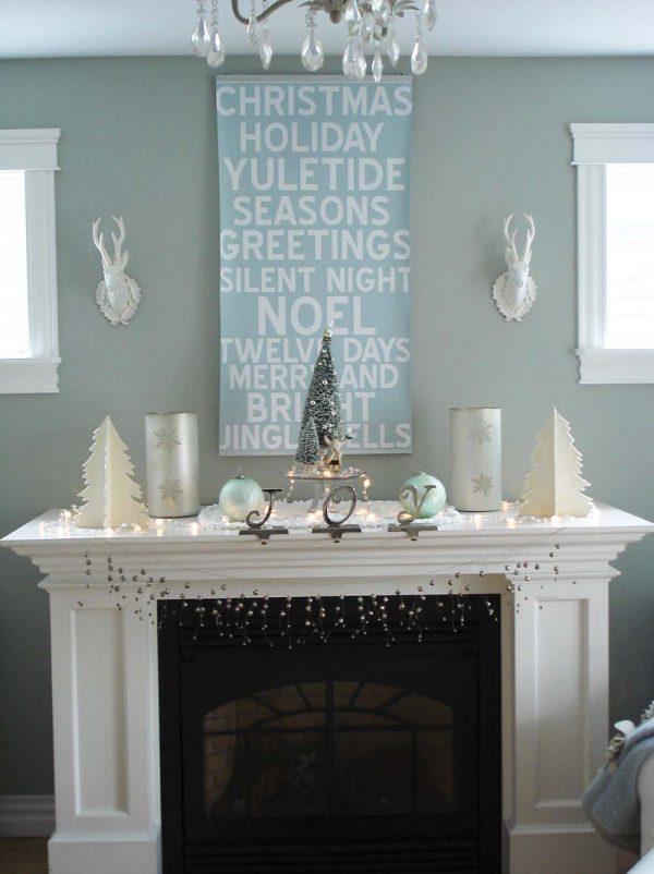 christmas mantels decorating ideas