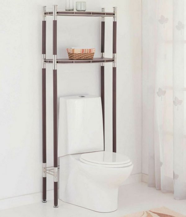 over the toilet shelving unit