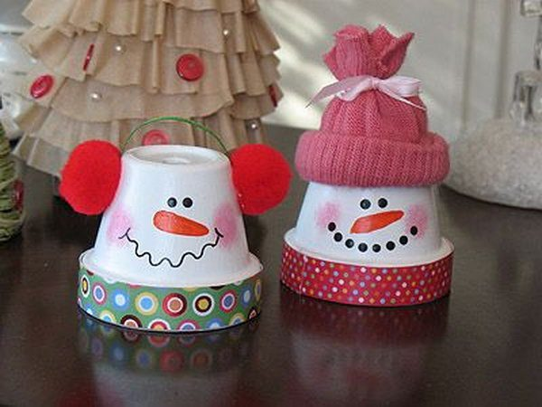 snowman arts and crafts