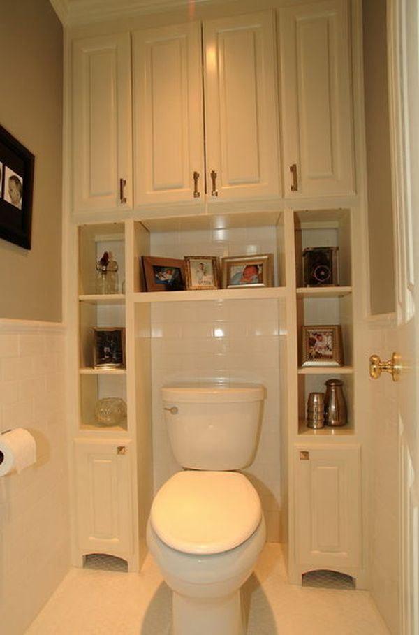 bathroom over the toilet storage