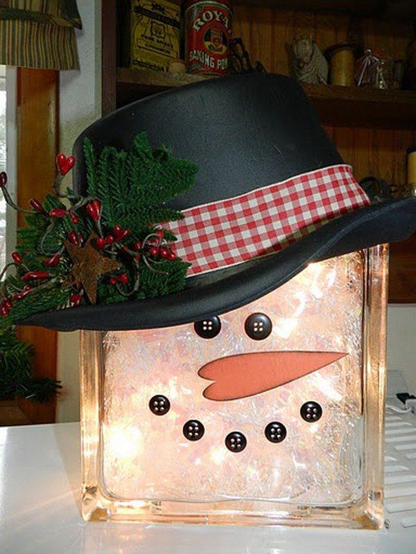 snowman christmas decorations ideas