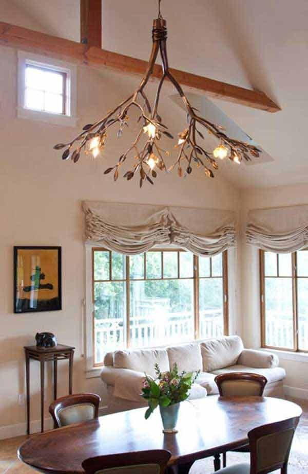 Diy Tree Branch Chandelier Ideas Little Piece Of Me