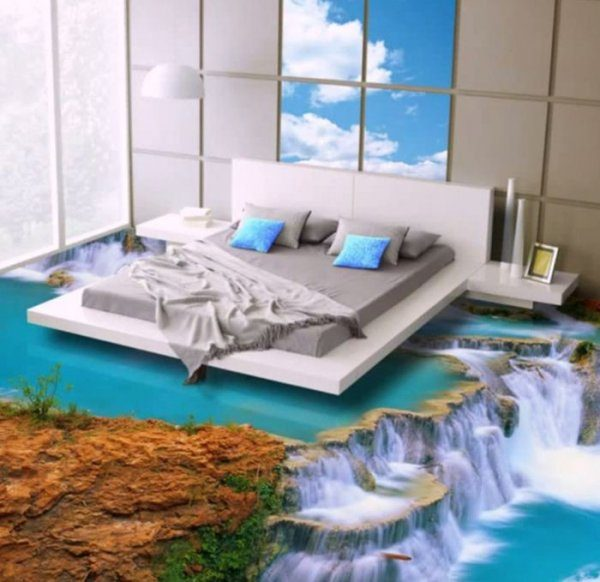 3d bedroom flooring