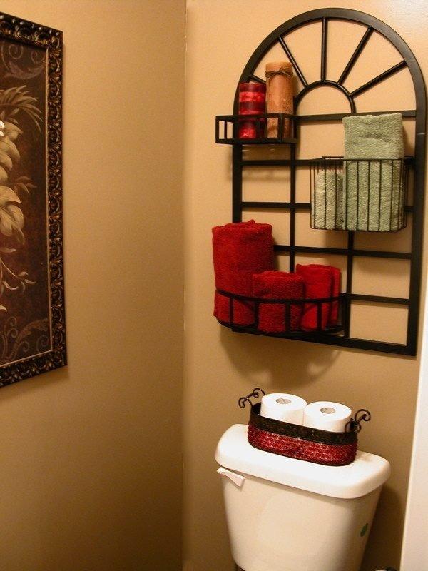 small bathroom storage ideas over toilet