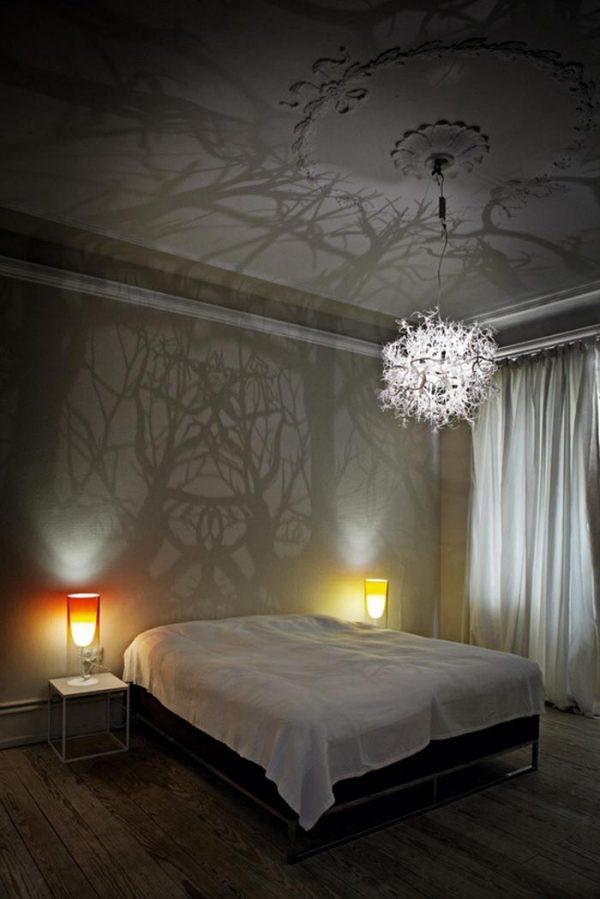 modern branch chandelier
