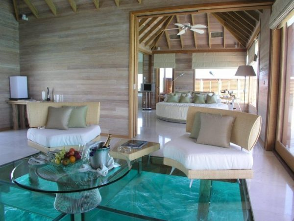 glass flooring design