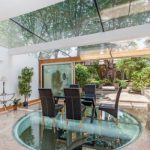 Glass floors for modern home