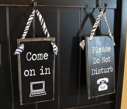 Make Your Own Door Hanger Sign Little Piece Of Me