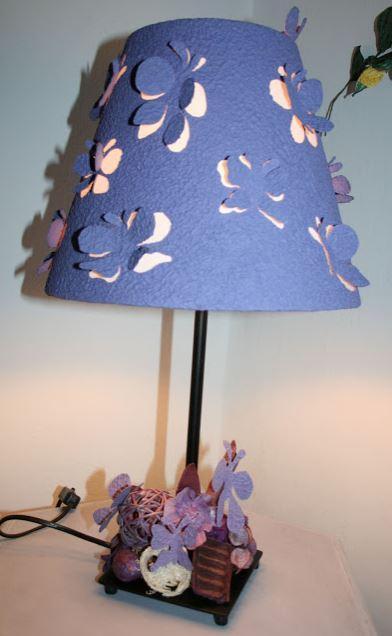 diy lampshade cover 1