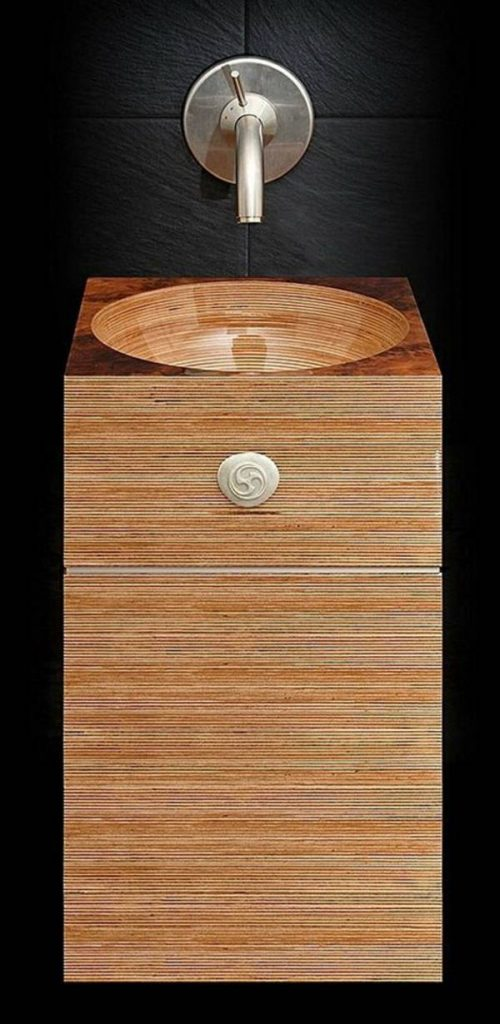 wooden bathroom sink cabinets1