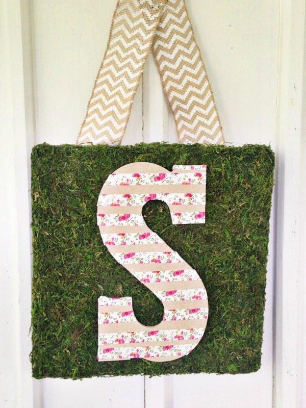make your own door hanger sign