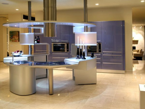 futuristic kitchen designs - Futuristic Kitchen