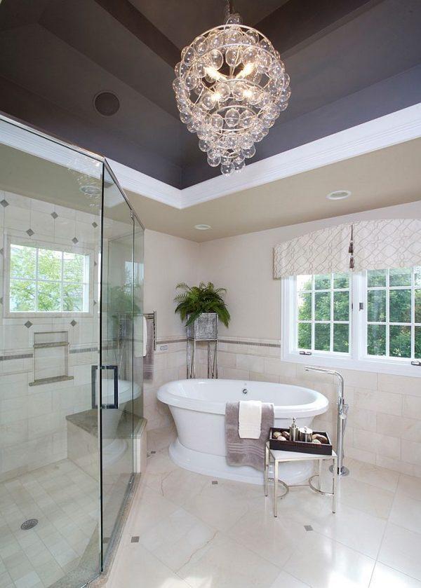 chandelier for bathroom