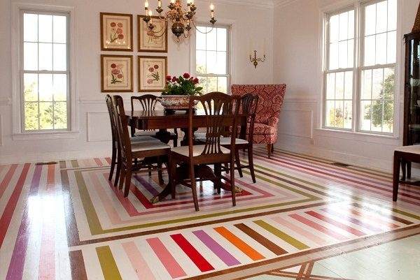 painted floor designs
