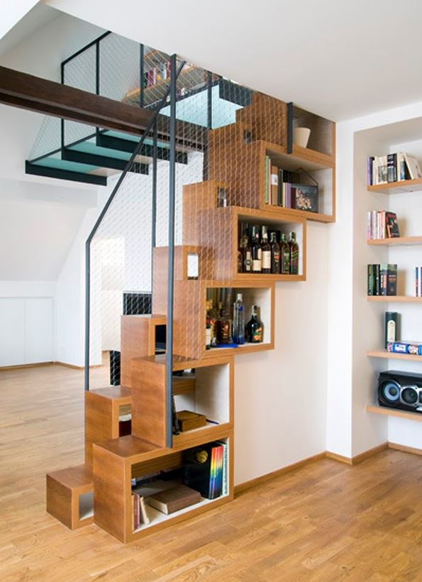 ideas of how to use space under staircase 4