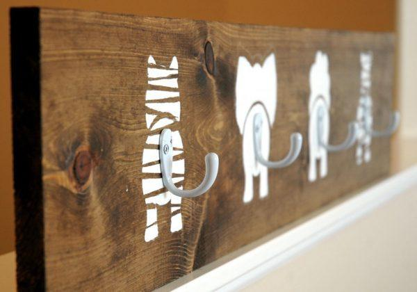 cat wall hooks
