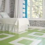 25 Painted Flooring ideas for bright and cheerful look of the room