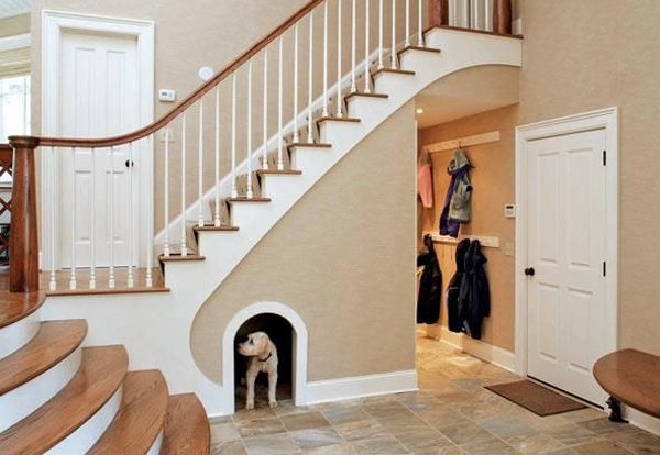 ideas of how to use space under staircase 1