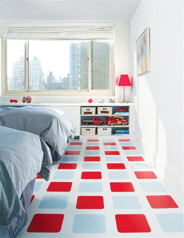 painted floor ideas