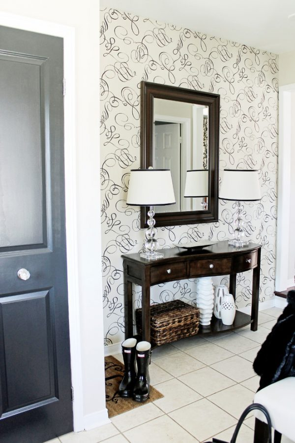 wallpaper for small hallways