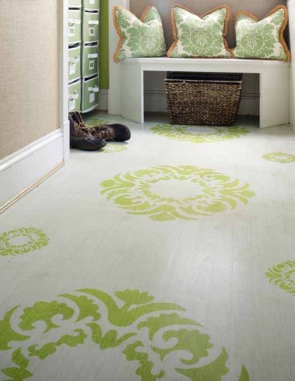 laminate floor paint