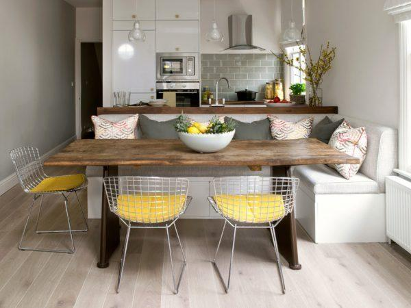 dining tables and benches