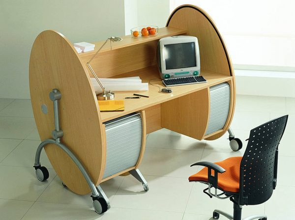 computer workstation desk