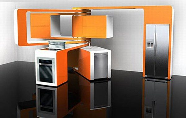 18 Futuristic kitchen designs - Little Piece Of Me