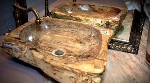 wooden bathroom sinks1