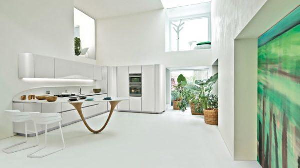 futuristic kitchens