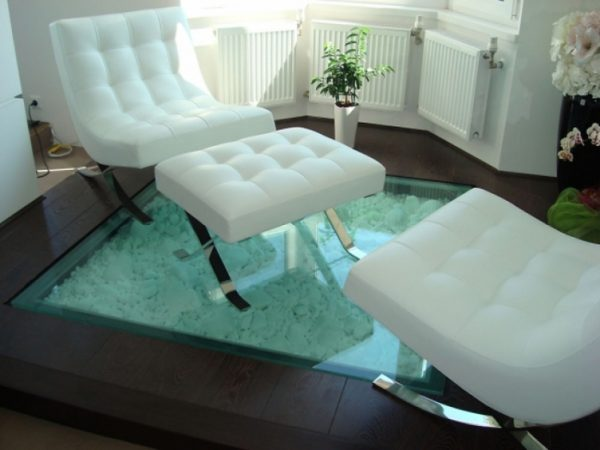 glass floor blocks
