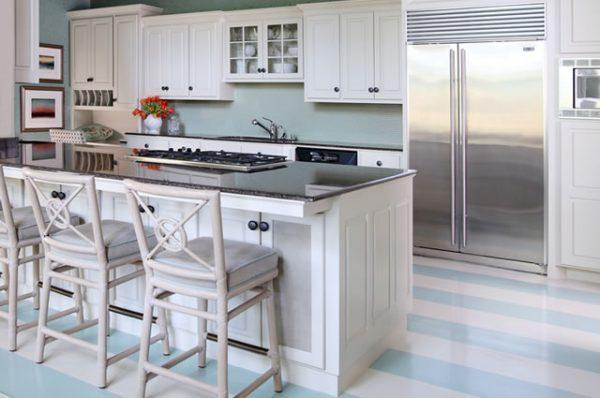 kitchen floor paint