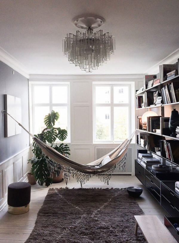 Indoor hammock bed1