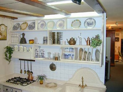 Kitchen shelves 9