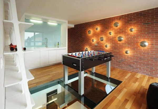 glass flooring panels