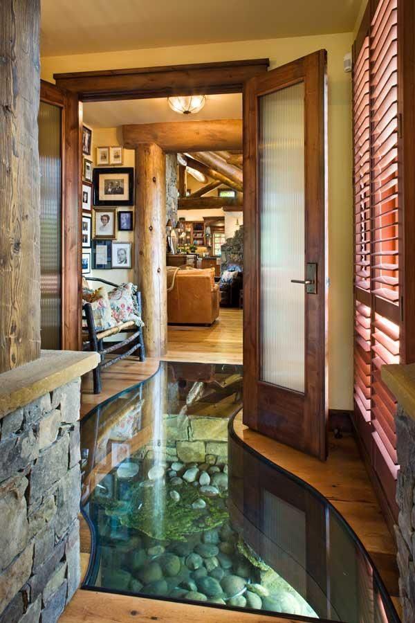 glass floor designs