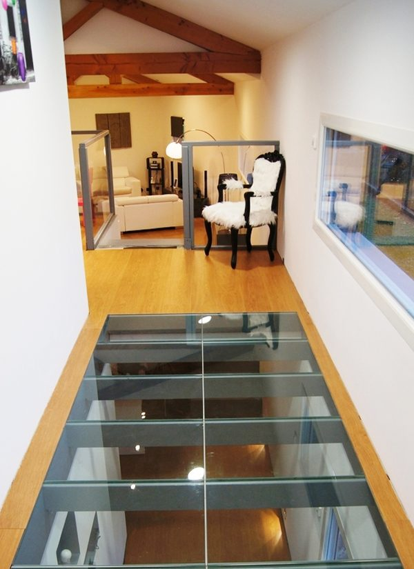 glass for floors