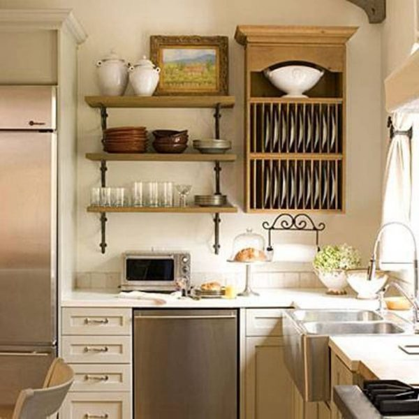 15 Kitchen shelves for dishes ideas