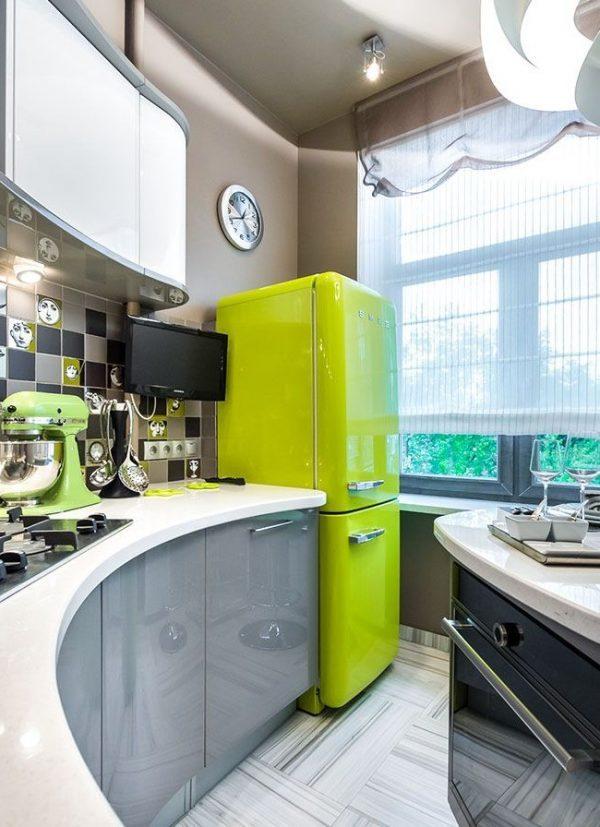 retro style fridge