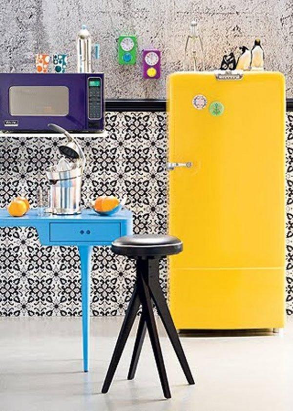 retro style refrigerators