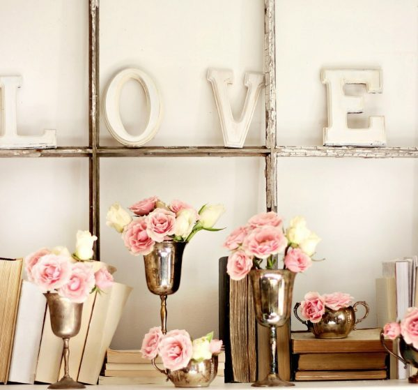 23 Shabby chic valentine day ideas for romantic home decor
