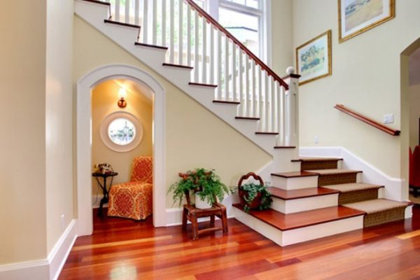 under stairs room