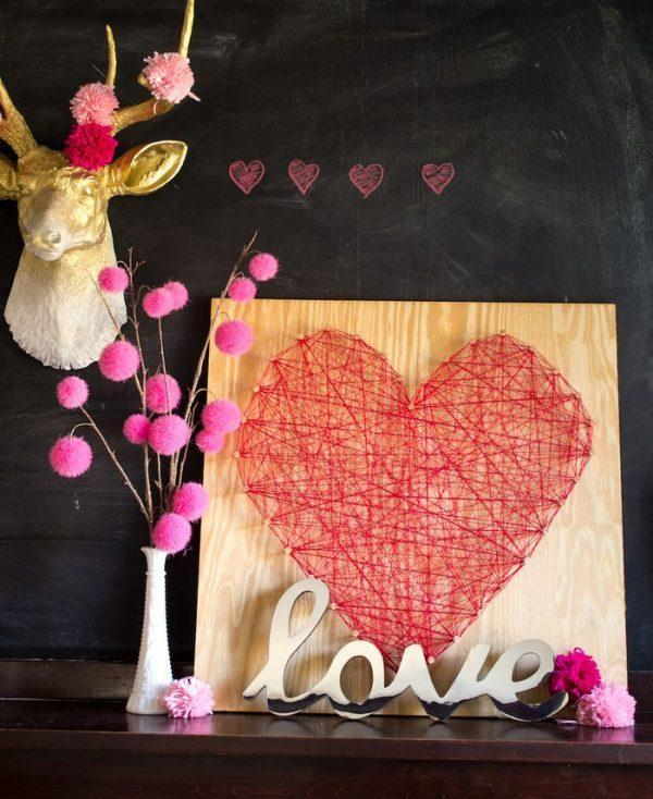 large heart decorations