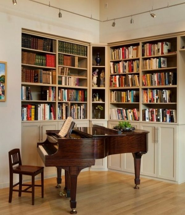 Upright Piano Room Decorating Ideas