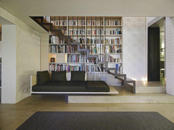 under stairs bookcase