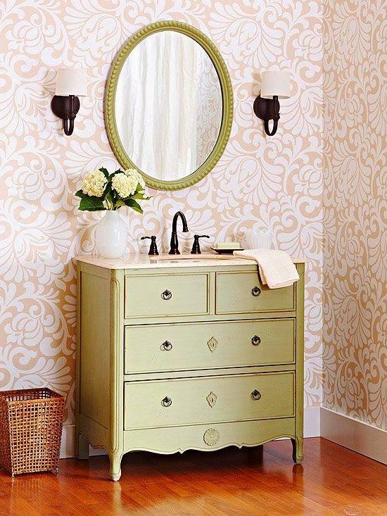 vintage style bathroom vanities