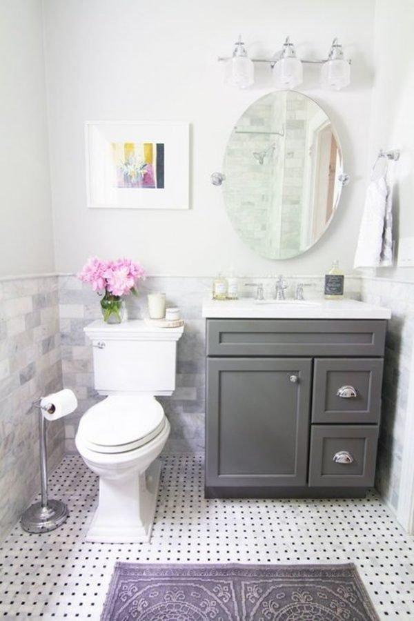 vintage looking bathrooms