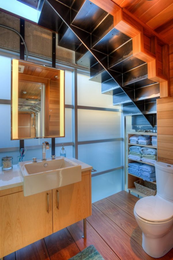 under stairs toilet design ideas